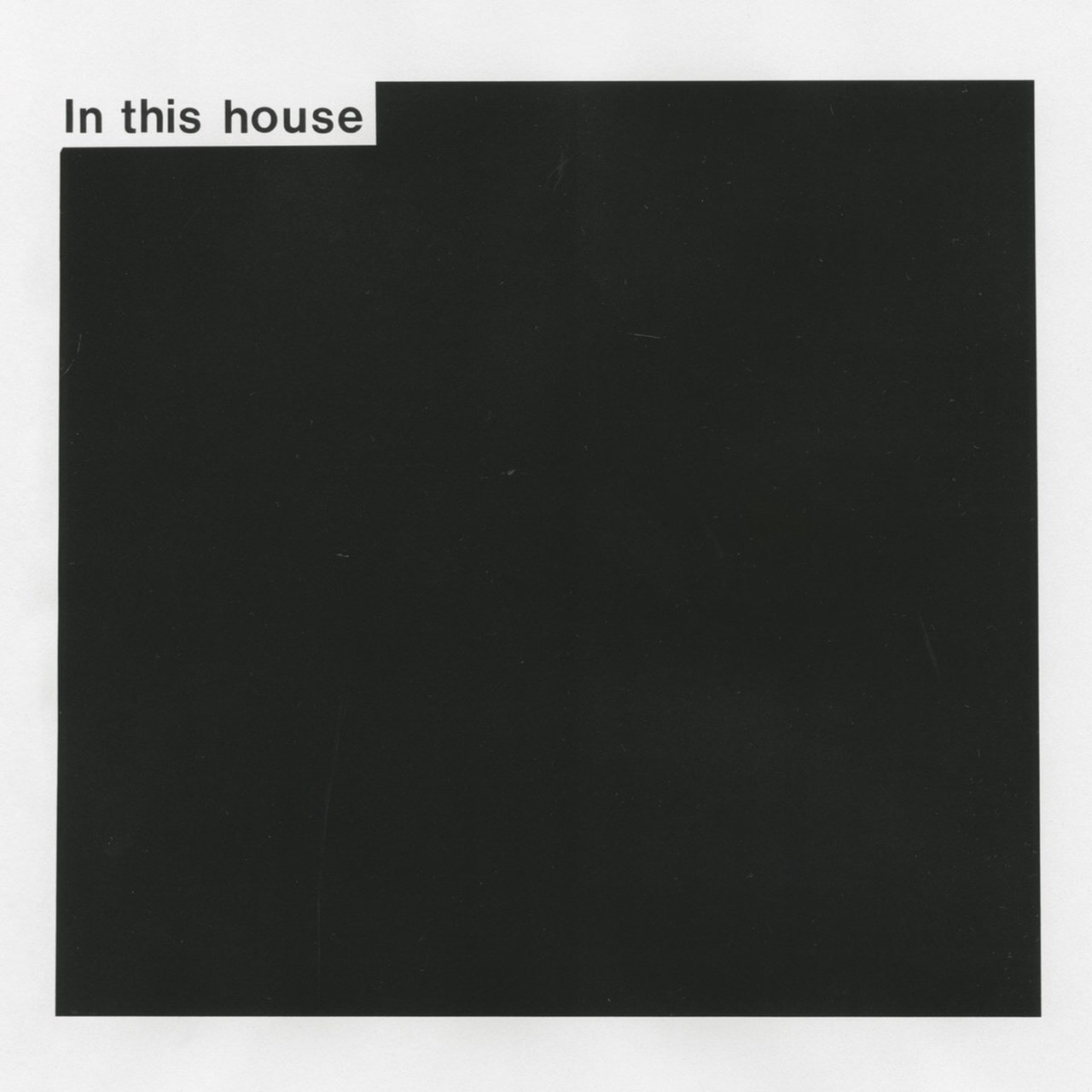In This House - 1