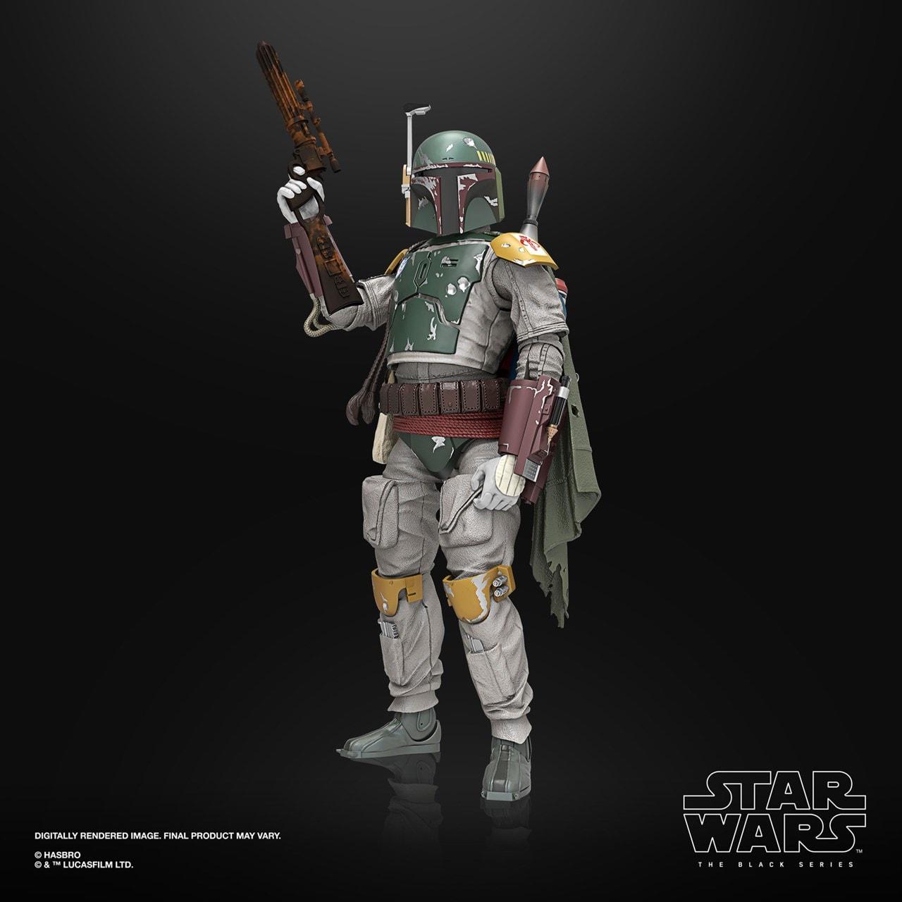 Boba Fett: Deluxe: The Black Series: Star Wars Action Figure - 1