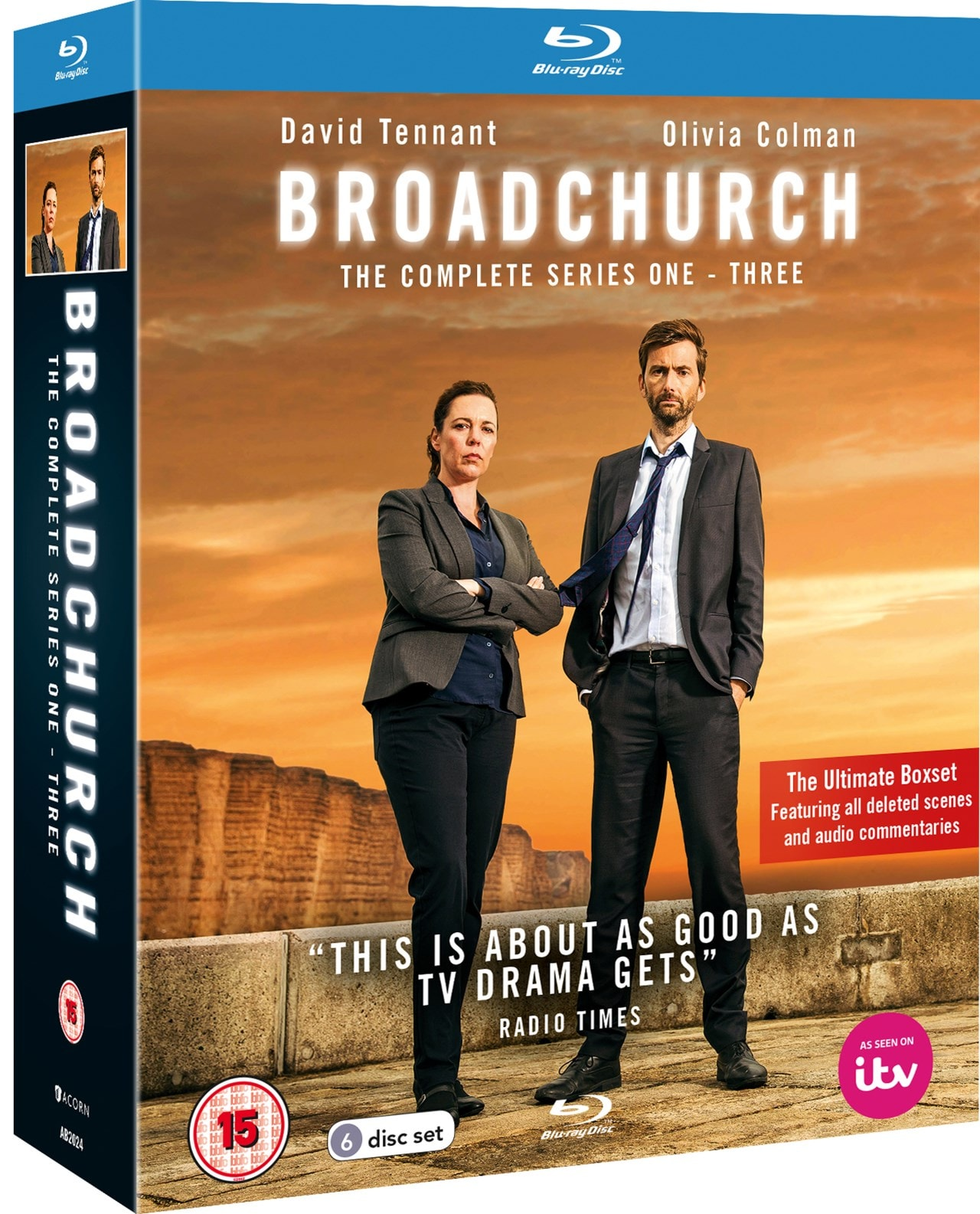 Broadchurch: The Complete Series 1-3 - 2