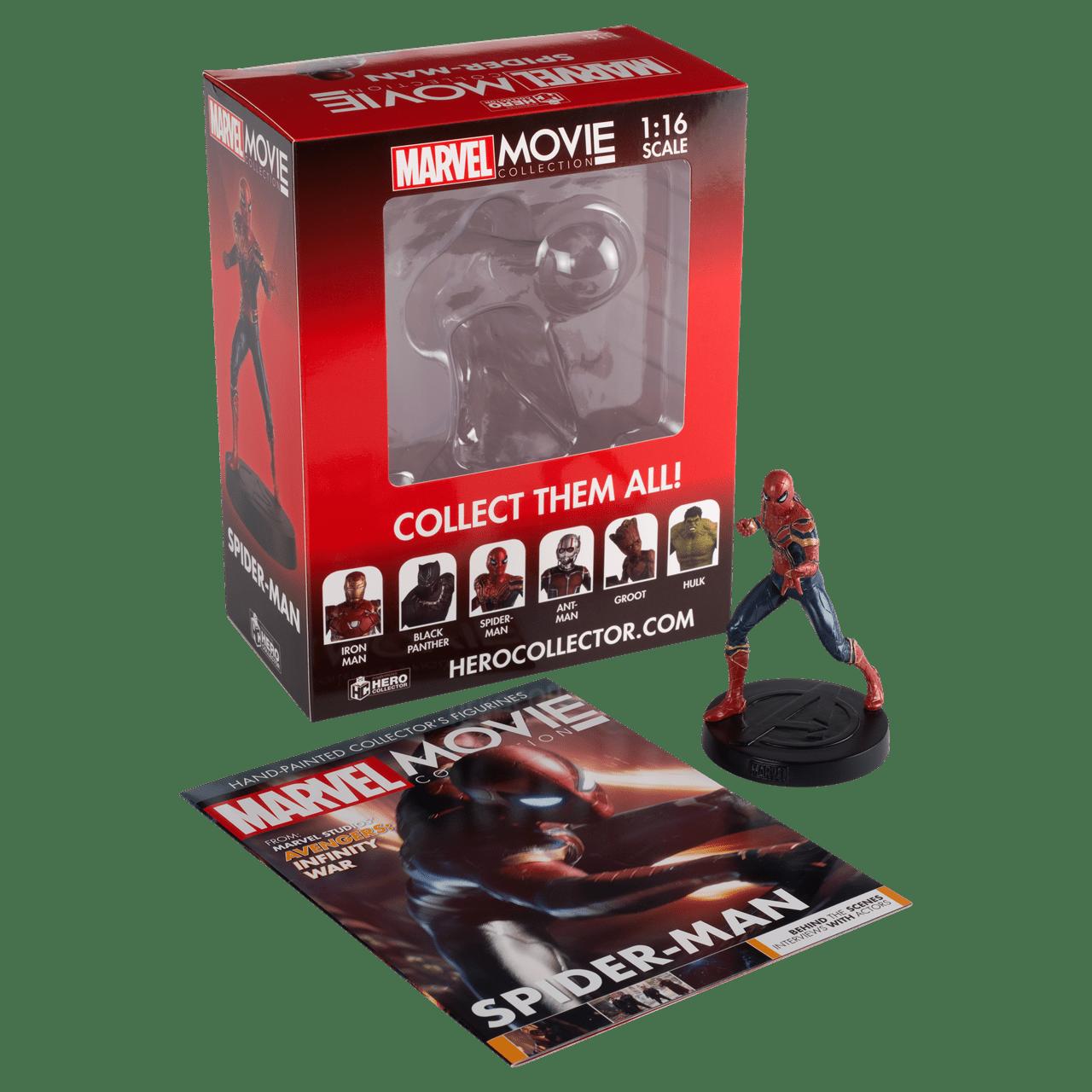 Spider-Man: Iron Spider: Marvel Figurine: Hero Collector - 2