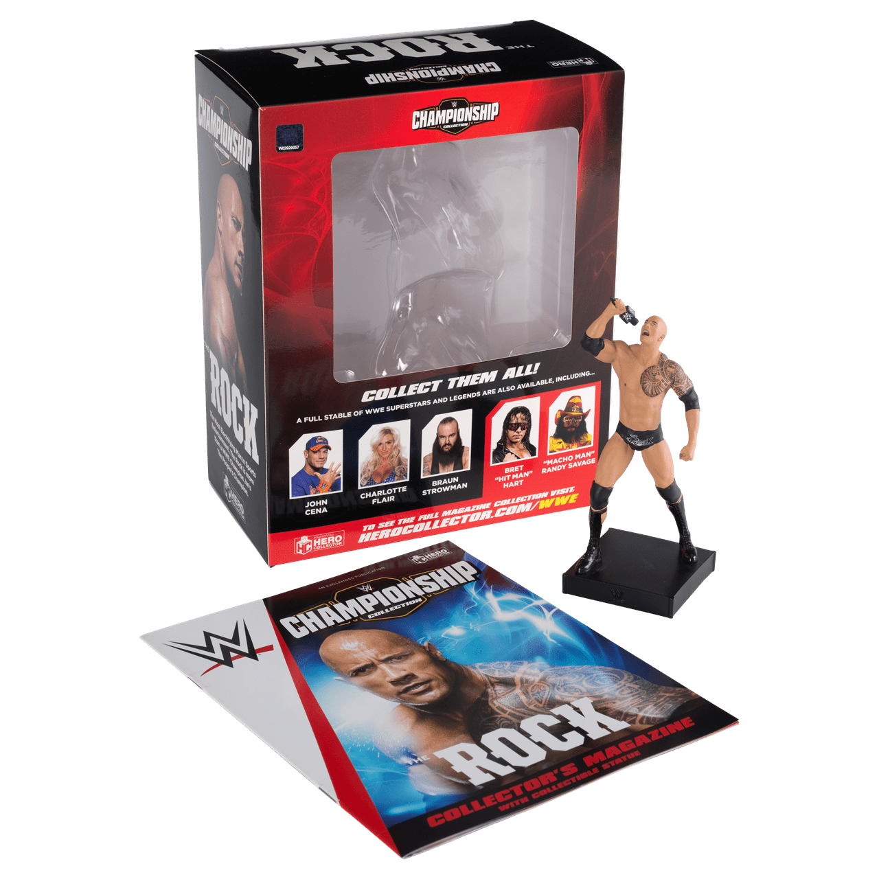 The Rock: WWE Championship Figurine: Hero Collector - 2