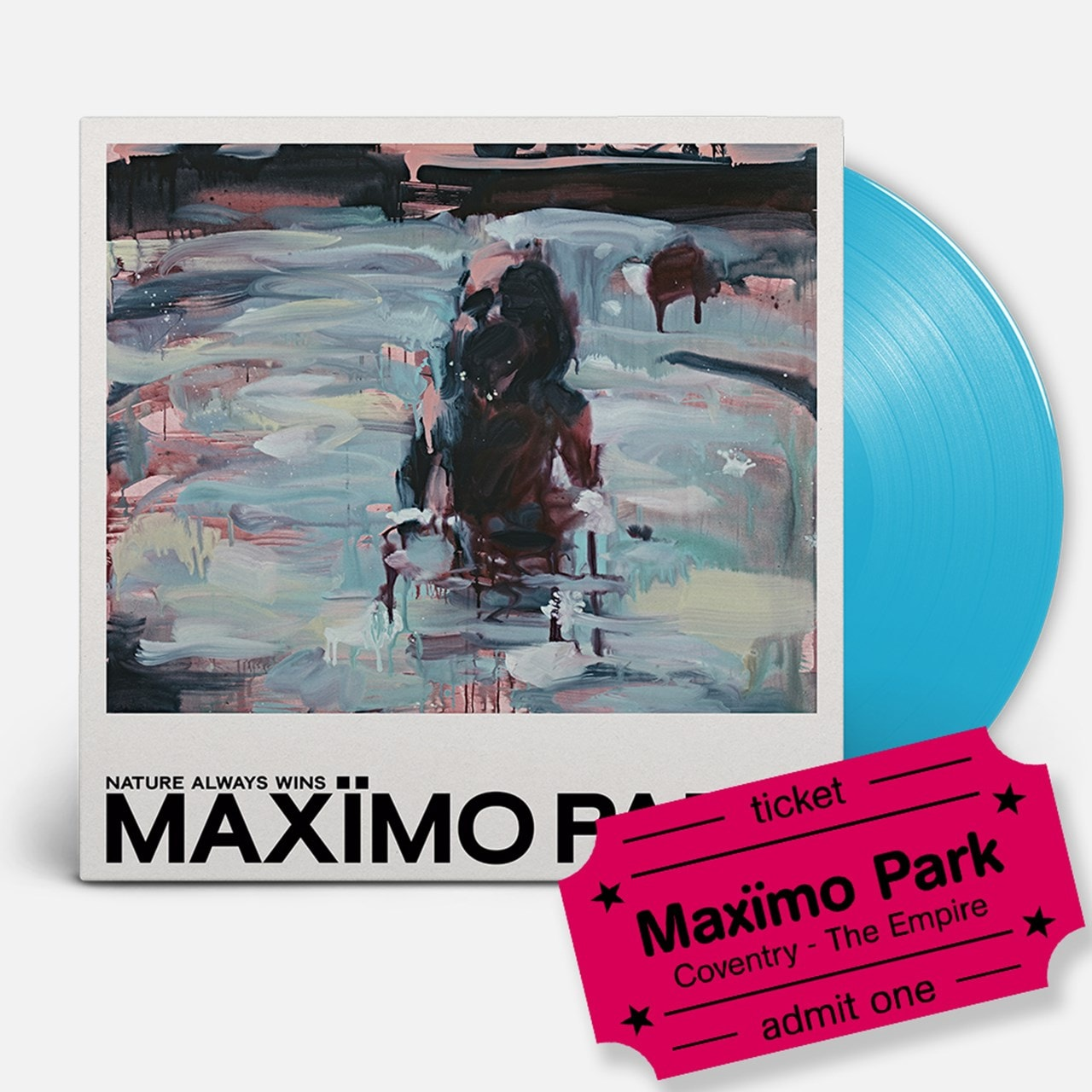 Maximo Park - Nature Always Wins - LP & Coventry Empire Event Entry - 1