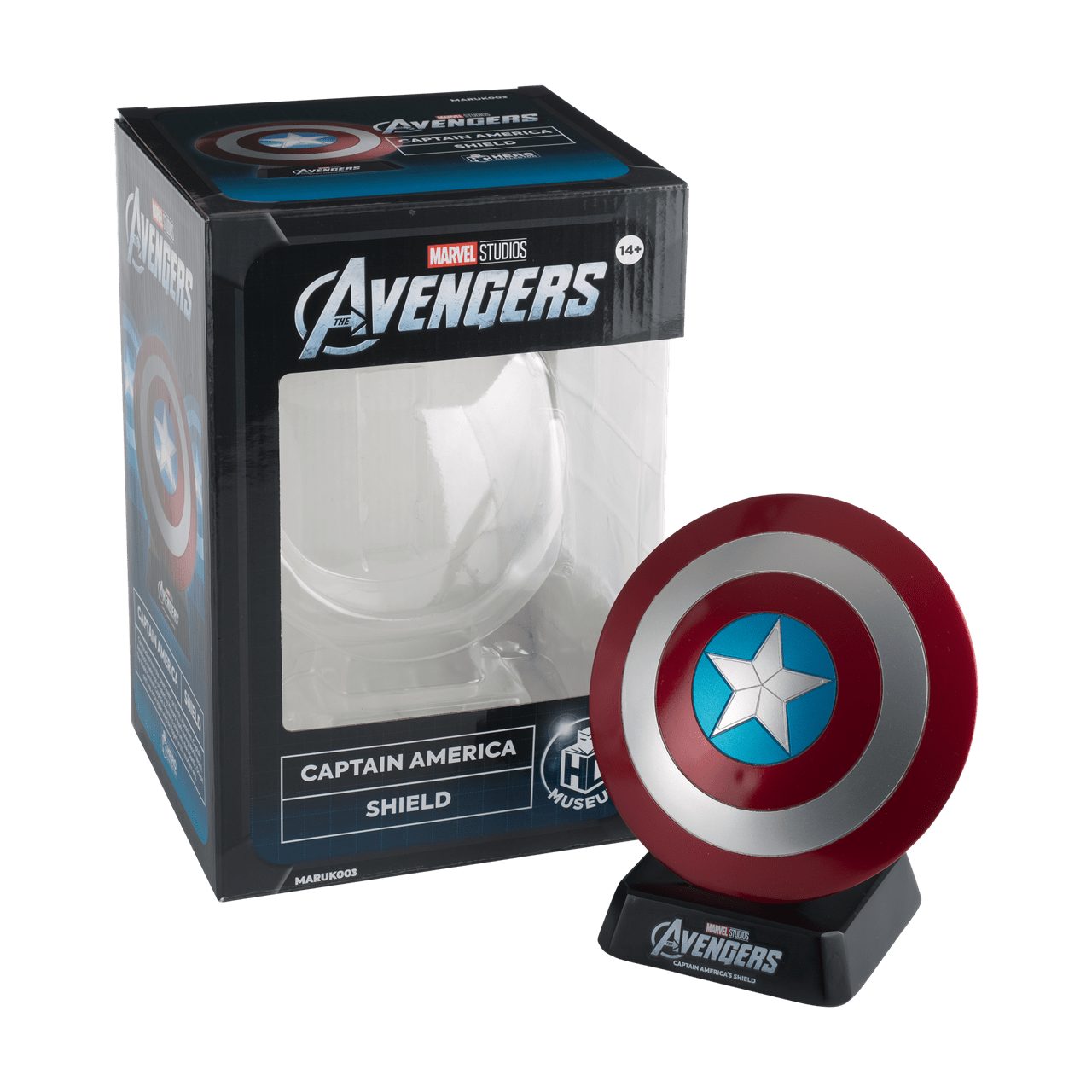 Captain America Shield: Marvel Museum Replica Hero Collector - 4