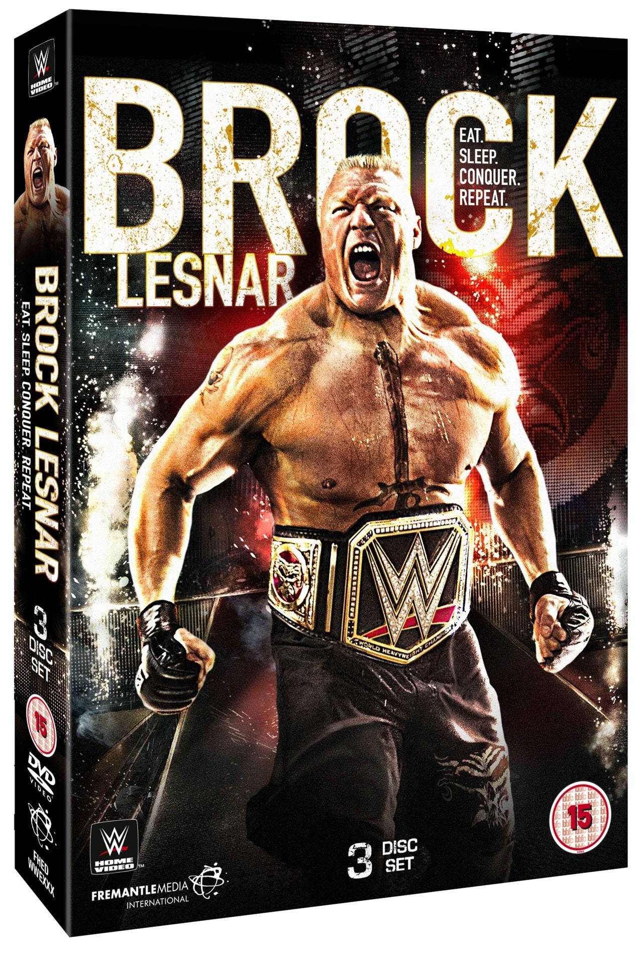 WWE: Brock Lesnar - Eat. Sleep. Conquer. Repeat. - 1