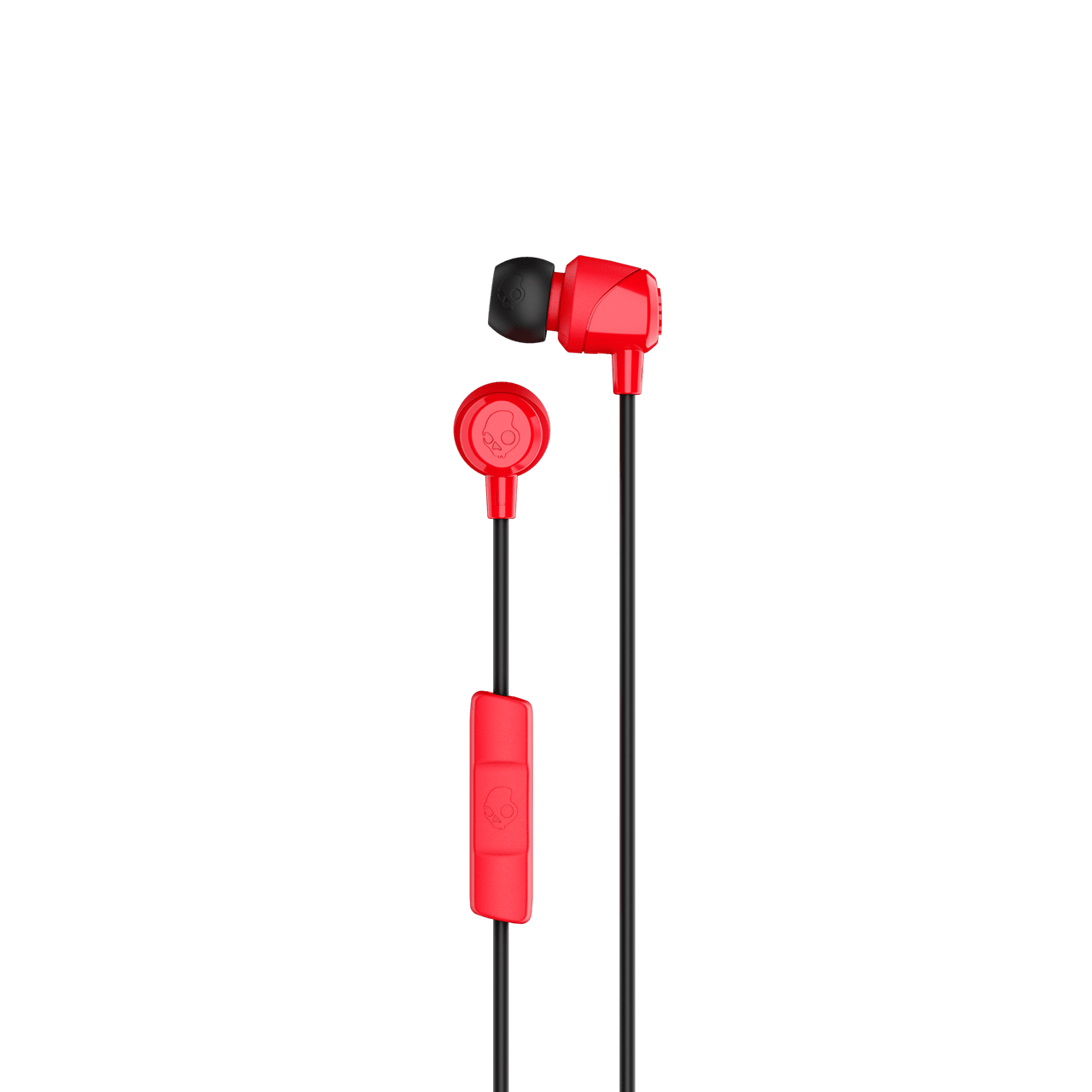 Skullcandy Jib Red/Black Earphones W/Mic - 2