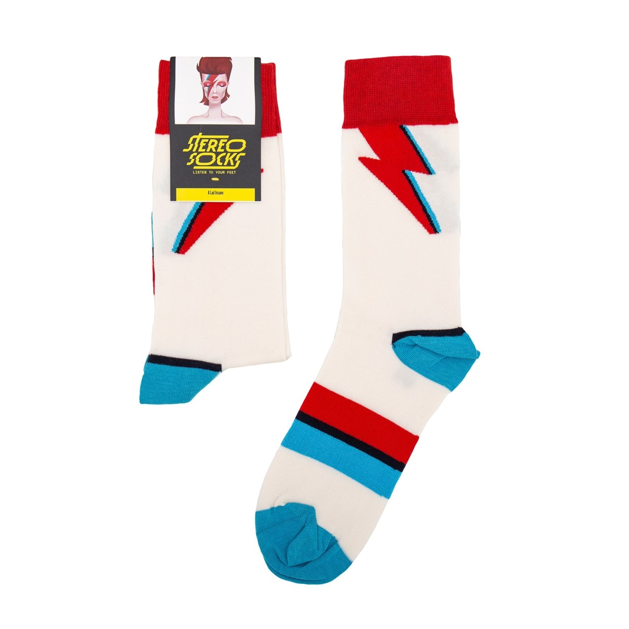 David Bowie: A Lad Insane Socks - 1