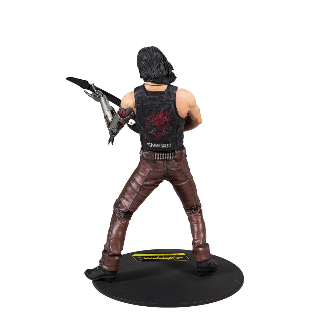 Cyberpunk 2077: Johnny Silverhand (Chrome Rock) Figurine - 2