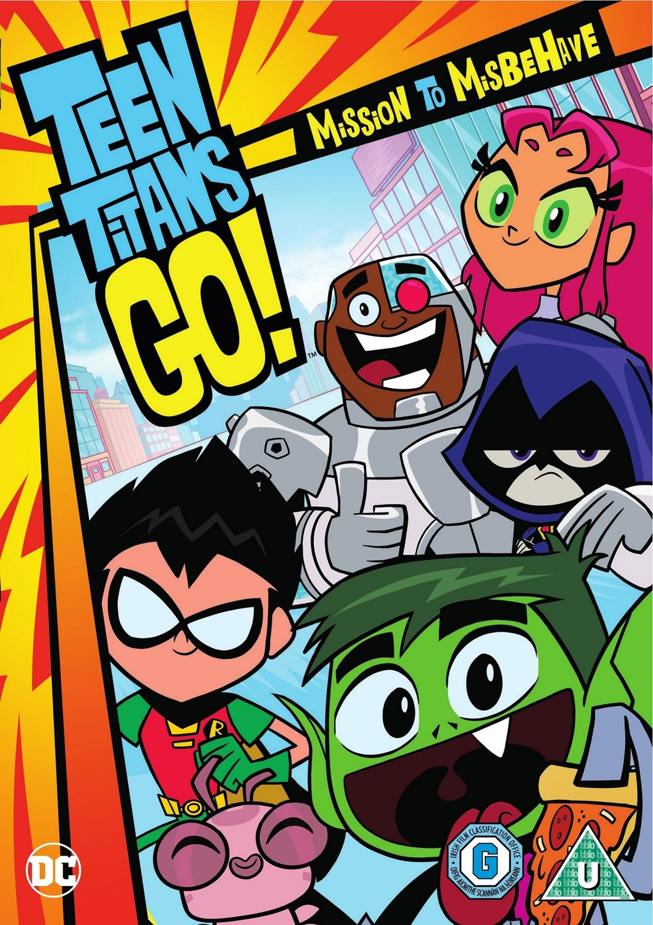 Teen Titans Go!: Mission to Misbehave - 1