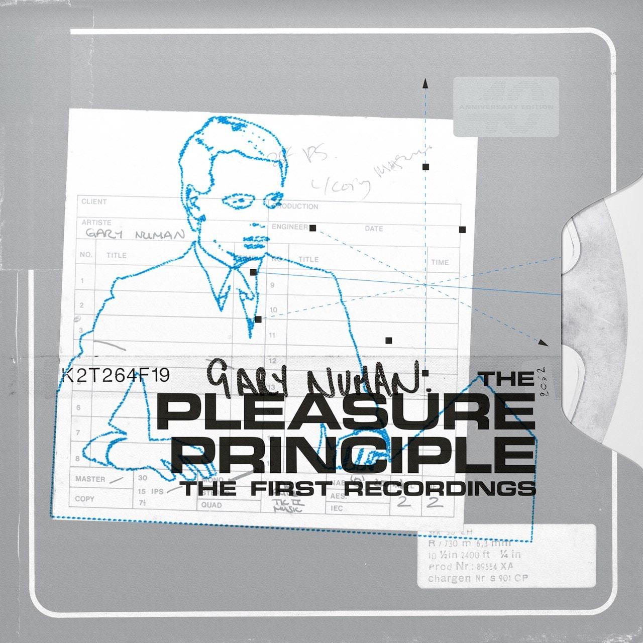 The Pleasure Principle: The First Recordings (Orange Vinyl) - 2