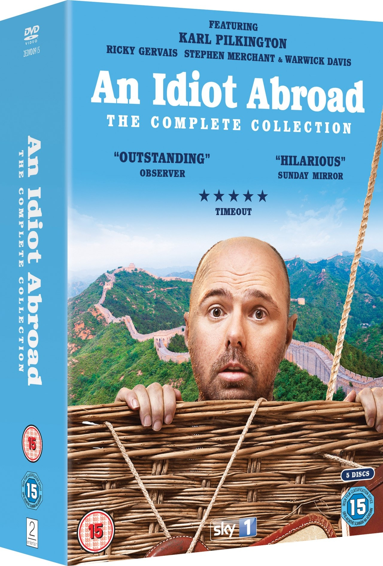 An Idiot Abroad: The Complete Collection - 2