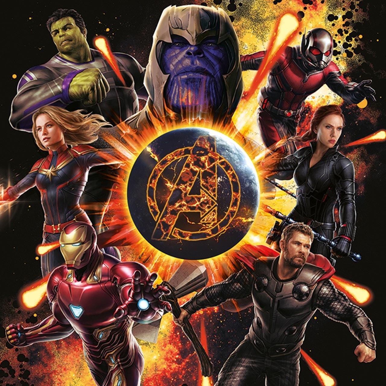 Avengers: Endgame Explosion Canvas Print - 1