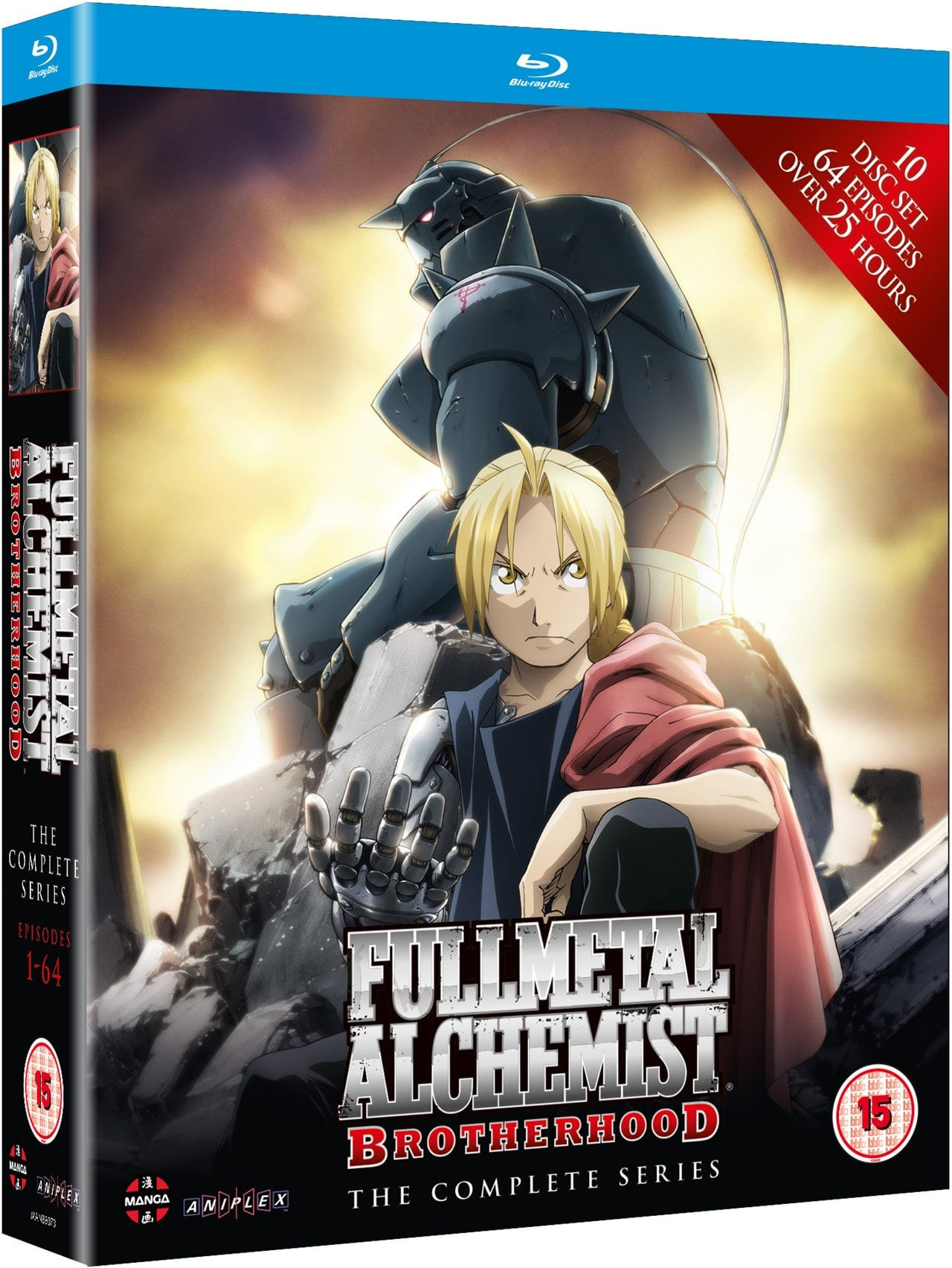 Fullmetal Alchemist Brotherhood: The Complete Series - 2