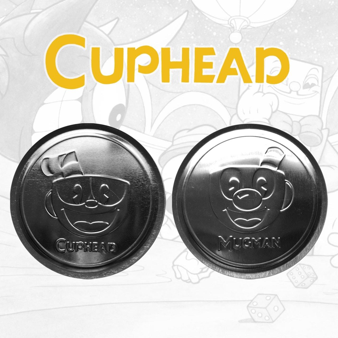 Cuphead: Metal Embossed Coaster Set - 3