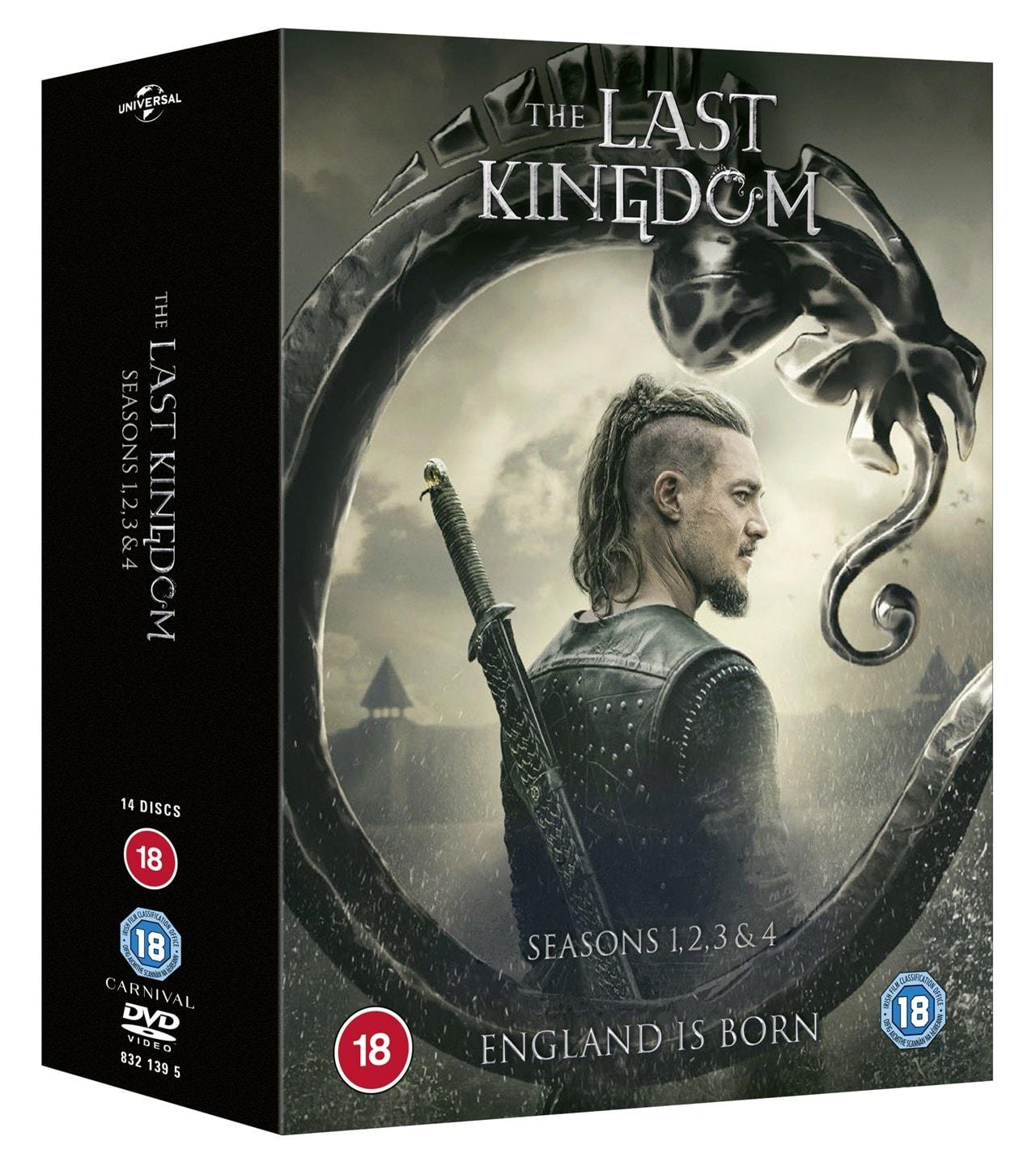 The Last Kingdom: Seasons 1, 2, 3 & 4 - 2
