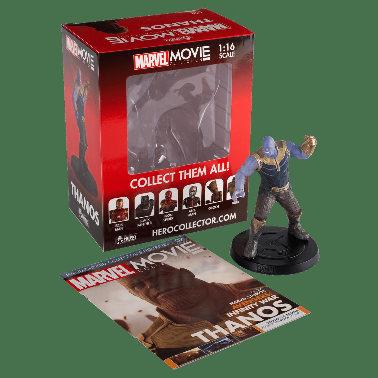 Thanos (Special): Marvel Figurine: Hero Collector - 2