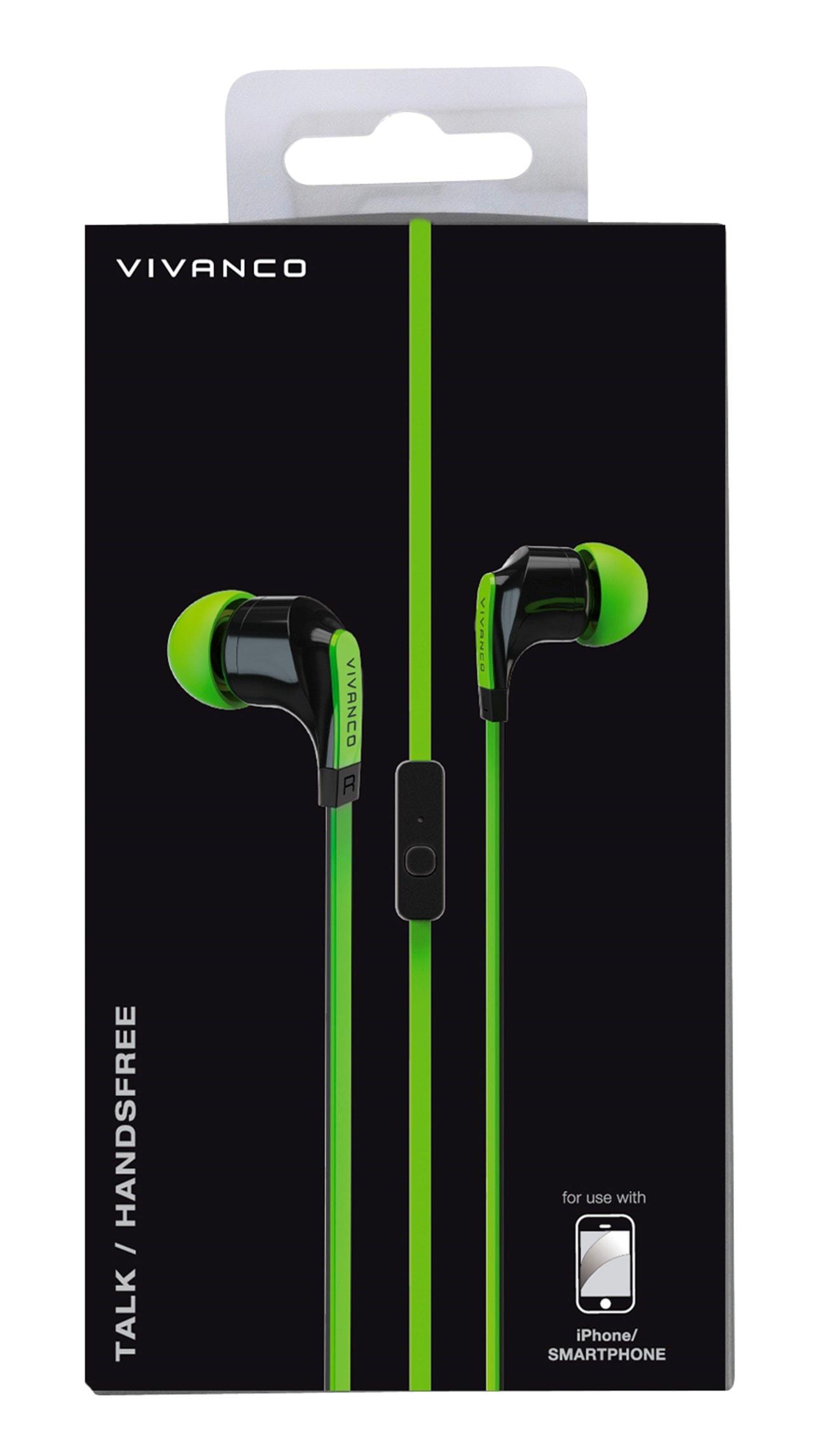 Vivanco Talk 4 Green Earphones - 2