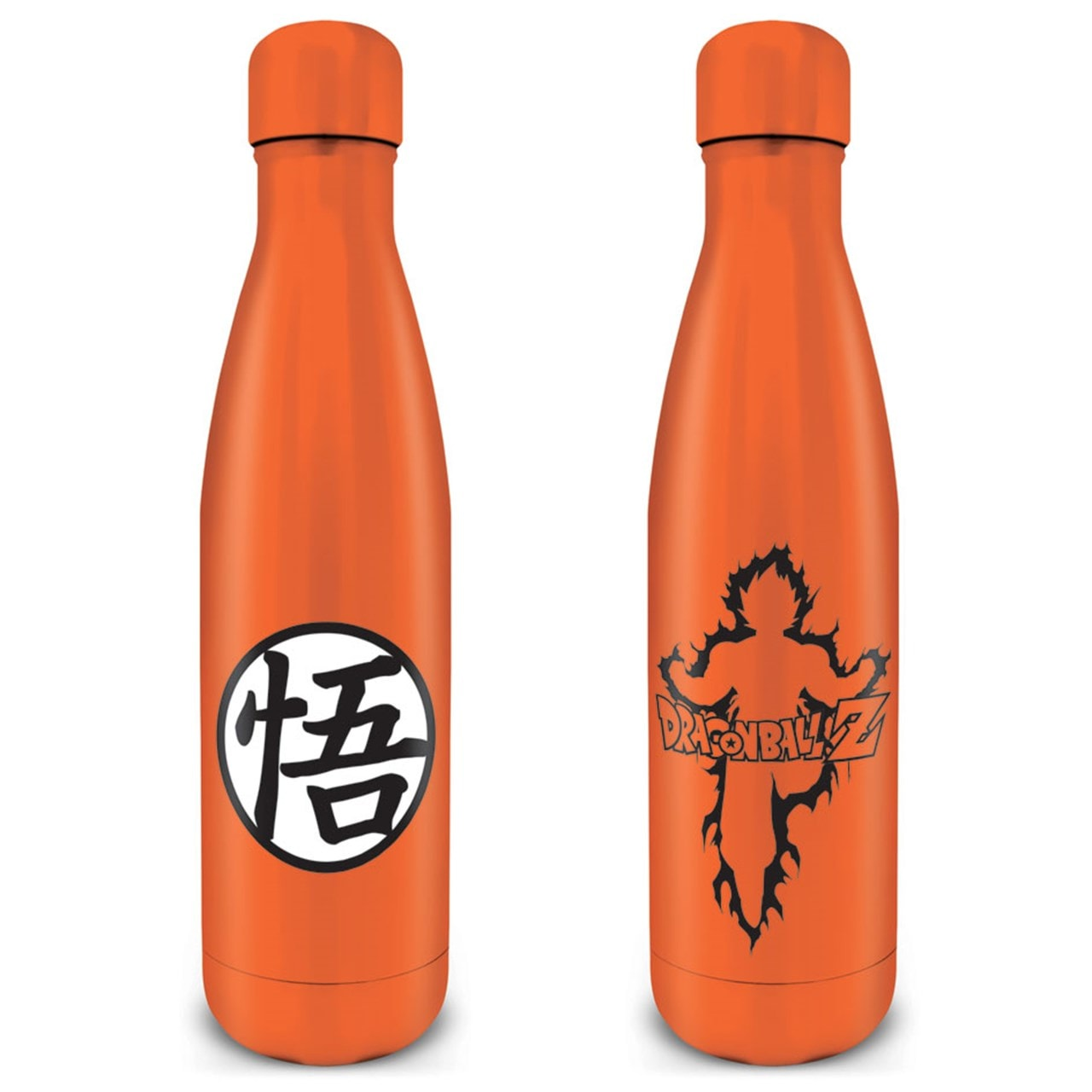 Dragon Ball Z: Goku Kanji Metal Drink Bottle - 1