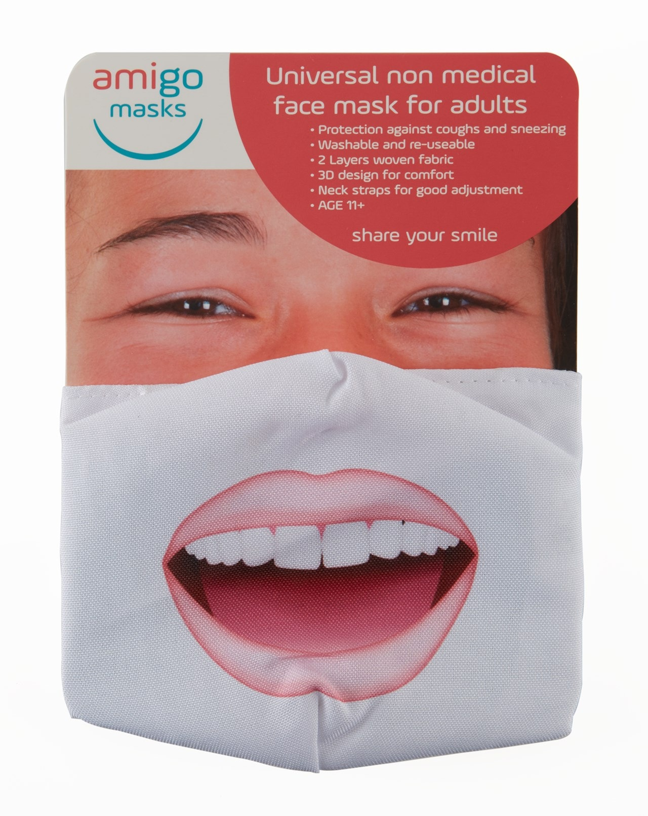 Wow Face Covering - 4