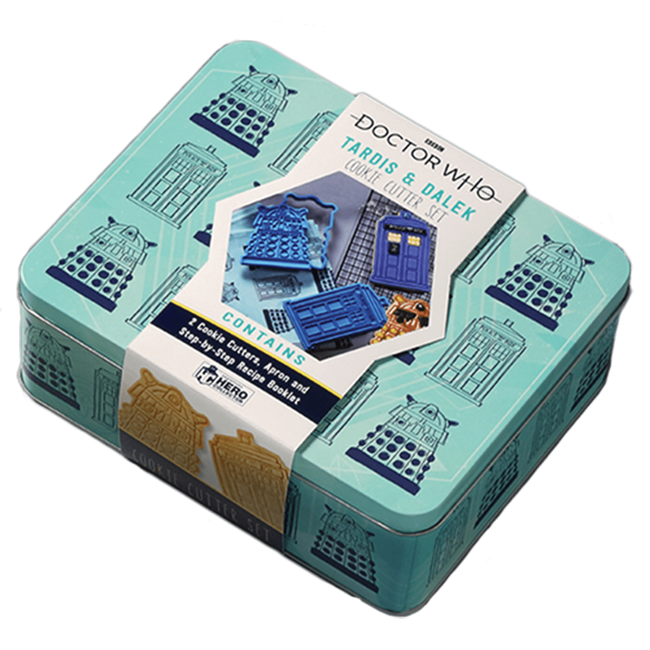 Doctor Who: Apron & Cookie Cutter Baking Set Hero Collector - 6