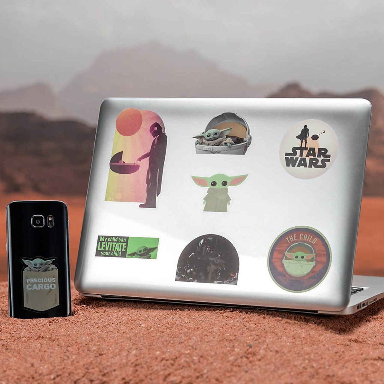The Child: The Mandalorian: Star Wars Gadget Decals - 1