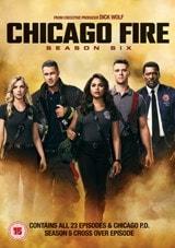 Chicago Fire Season Six Dvd Box Set Free Shipping Over 20 Hmv Store
