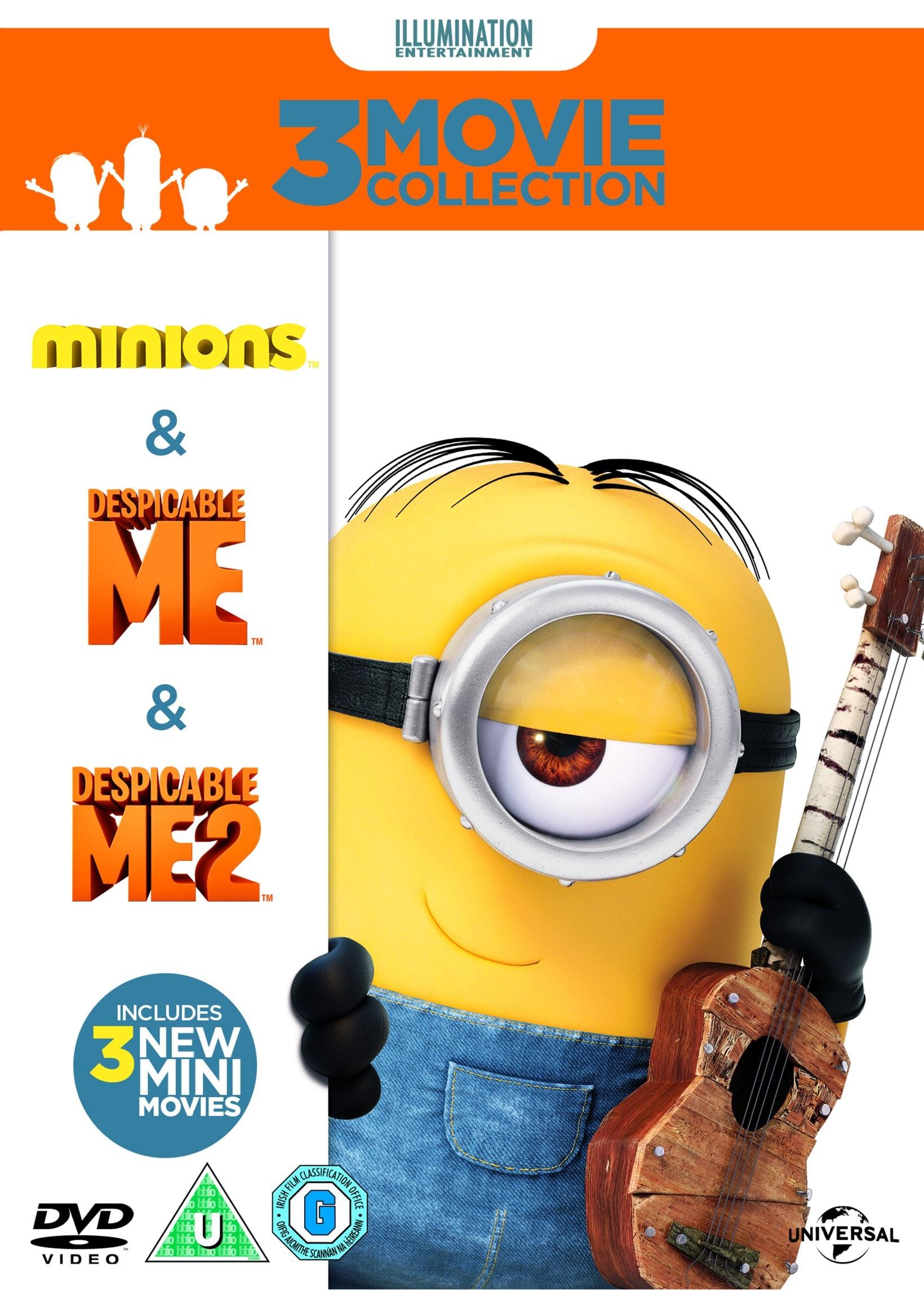 Despicable Me/Despicable Me 2/Minions