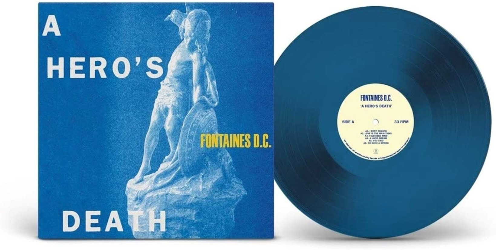 A Hero's Death - Limited Edition Blue Vinyl