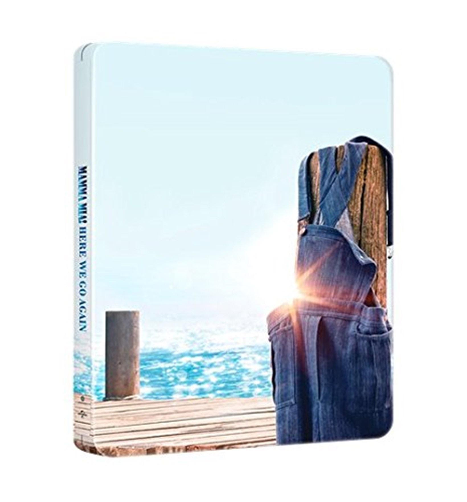 Mamma Mia! Here We Go Again (hmv Exclusive) 4K Ultra HD Steelbook