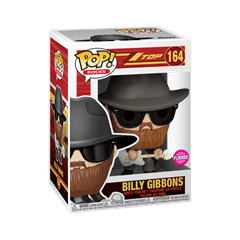 Billy Gibbons (164) ZZ Top Pop Vinyl - 2