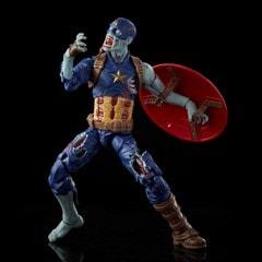 Zombie Captain America: Hasbro Marvel Legends Series Action Figure - 2
