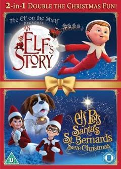 An Elf's Story/Elf Pets: Santa's St Bernard's Save Christmas - 1