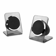 Victrola Acrylic Charcoal Turntable With Bluetooth Speakers - 3