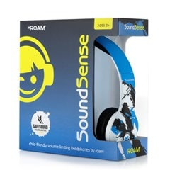 Roam Soundsense Blue Kids Headphones - 2