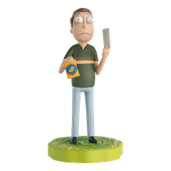 Jerry: Rick And Morty 1:16 Figurine With Magazine: Hero Collector - 1