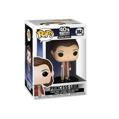 Leia (362) Empire Strikes Back 40Th Anniversary Star Wars Pop Vinyl - 2
