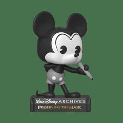 Black & White Mickey Mouse (797) Disney Archives Pop Vinyl - 1