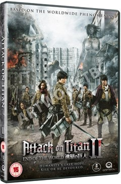 Attack On Titan: Part 2 - End of the World - 1
