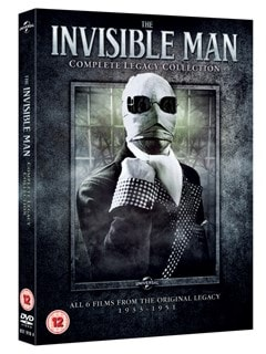 The Invisible Man: Complete Legacy Collection - 2