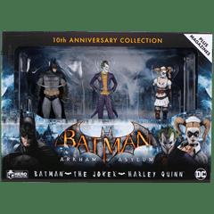 Batman: Arkham Asylum 3 Figurine Set: Batman, Joker, Harley: Hero Collector - 5