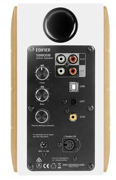 Edifier S880DB White Active Bluetooth Bookshelf Speakers - 2