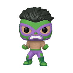 El Furioso: Hulk (708): Lucha Libre: Marvel Pop Vinyl - 1