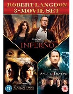 The Da Vinci Code/Angels and Demons/Inferno - 1