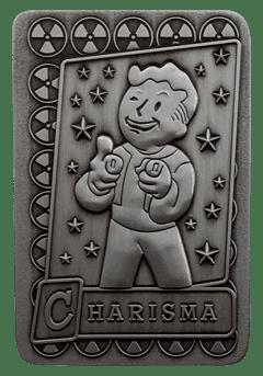 Fallout: Charisma Metal Perk Card - 2