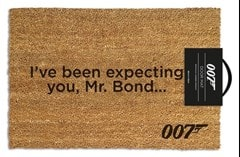 James Bond: I've Been Expecting You Door Mat - 1