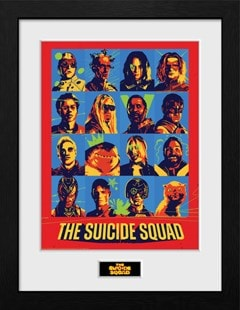 Suicide Squad: 2021 Bunch: Framed Collector Print - 1