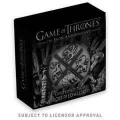 Game of Thrones: Iron Anniversary Limited Edition Medallion - 7