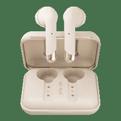 Happy Plugs Air1 Plus Gold Earbud True Wireless Bluetooth Earphones - 2