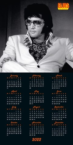 Elvis Collectors Edition Record Sleeve 2022 Calendar - 6