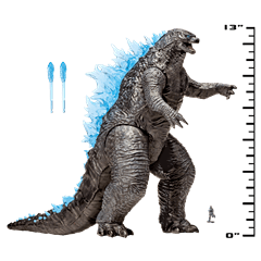 Monsterverse Godzilla vs Kong: Mega Godzilla with Lights & Sounds Action Figure - 3