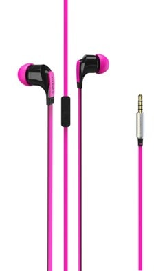 Vivanco Talk 4 Pink Earphones - 1